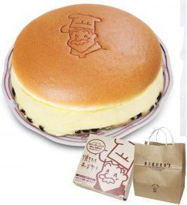 AmazonAmazon/りくろーおじさんの焼きたてチーズケーキ<6号サイズ/直径18cm>/スフレチーズケーキ