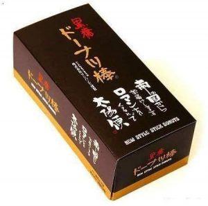 Amazon/フジバンビ 黒糖ドーナツ棒 40本:箱