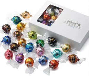 amazon/【公式】リンツ (Lindt) チョコレート リンドール テイスティングセット [ピック&ミックス] 20種 23個入り 個包装 ショッピングバッグS付